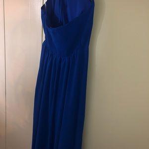 Decree Dresses - Royal Blue Maxi Dress